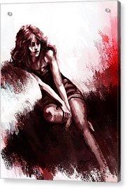 Missing You  Acrylic Print by Kiran Kumar