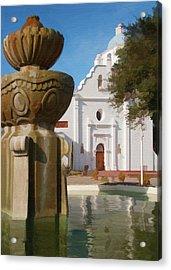 Mission Santa Cruz Acrylic Print