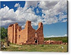 Mission To Quarai New Mexico Acrylic Print by Christine Till