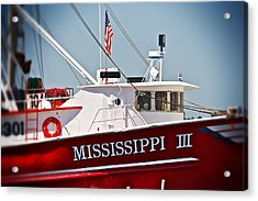 Mississippi IIi Acrylic Print by Jim Albritton