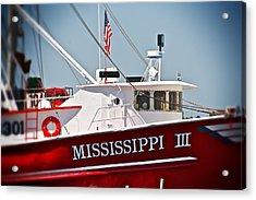 Mississippi IIi Acrylic Print