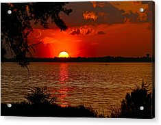 Mississippi Sunset 3 Acrylic Print
