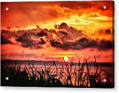 Acrylic Print featuring the photograph Mississippi Sunset At The Ross Barnett Reservoir 1 by Jim Albritton