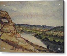 Missouri Breaks Acrylic Print