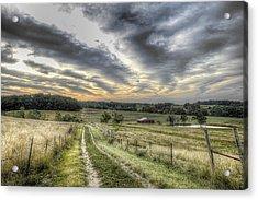 Missouri Dawn Acrylic Print by William Fields