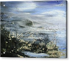 Mist On Water Acrylic Print by Tanya Byrd