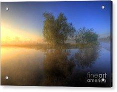 Misty Dawn 1.0 Acrylic Print by Yhun Suarez