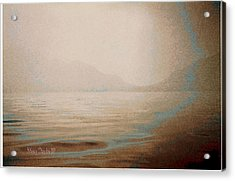 Misty Day Acrylic Print by Jean Paul LeBlanc