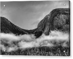 Misty Fjords Ketchican Alaska Acrylic Print by Julie VanDore