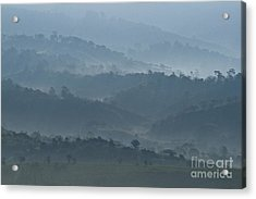 Misty Hills Of Chiriqui Acrylic Print by Heiko Koehrer-Wagner