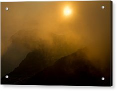 Misty Hongpo Sunset South Korea Acrylic Print