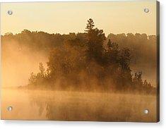 Misty Morning Acrylic Print by George Ramondo