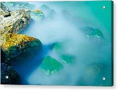 Misty Water Acrylic Print