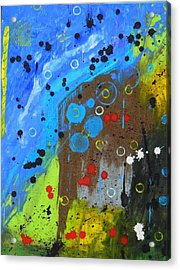 Acrylic Print featuring the painting Mix It Up by Everette McMahan jr