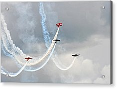Mixed Aerobatics Acrylic Print