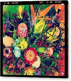Mms Anniversary Flowers   Acrylic Print