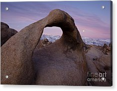 Mobius Arch  Acrylic Print by Keith Kapple