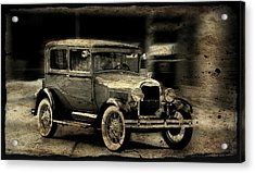 Model T No. 2 Acrylic Print by Janice Adomeit