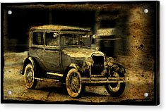 Model T No. 3 Acrylic Print by Janice Adomeit
