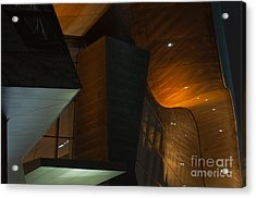 Acrylic Print featuring the photograph Modern Abstract by Andrew  Michael