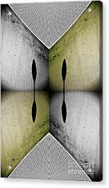 Modern Abstract With An African Theme 2. Acrylic Print by Emilio Lovisa