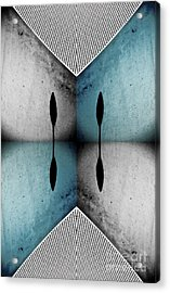 Modern Abstract With An African Theme 3. Acrylic Print by Emilio Lovisa