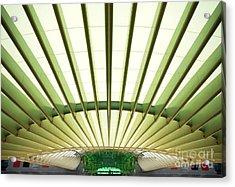 Modern Architecture Acrylic Print by Carlos Caetano