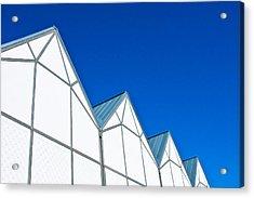 Modern Architecture Acrylic Print by Tom Gowanlock