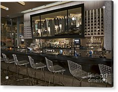 Modern Bar Acrylic Print by Robert Pisano