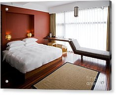 Modern Bedroom Acrylic Print