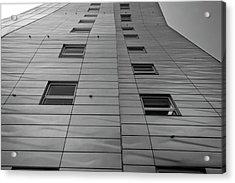 Modern Building Chelsea Nyc 4 Acrylic Print by Robert Ullmann