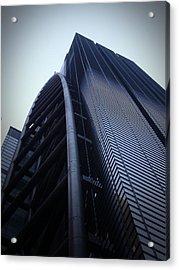 Modern Building In Tokyo Acrylic Print