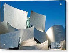 Modern Disney Concert Hall In Los Angeles California Acrylic Print