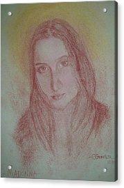 Modern Madonna Acrylic Print by Sheila Gunter