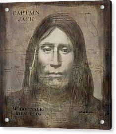 Modoc Indian Captain Jack Acrylic Print
