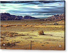 Mojave Desert Acrylic Print by Andre Salvador