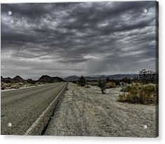 Mojave Hdr 003 Acrylic Print by Lance Vaughn