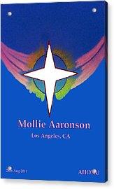 Mollie Aaronson Acrylic Print