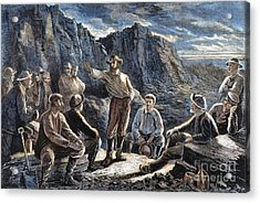 Molly Maguires, 1874 Acrylic Print by Granger