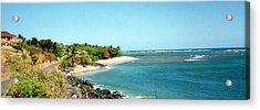 Molokai Shore Acrylic Print