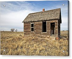 Mom And Dads Old Place Acrylic Print by James Steele