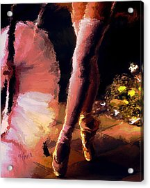 Moments Acrylic Print by Robert Smith