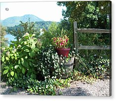 Acrylic Print featuring the photograph Mom's Garden by Lou Ann Bagnall