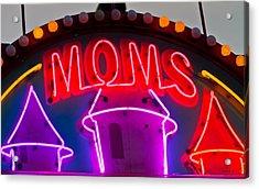 Moms Place Acrylic Print by Mitch Shindelbower