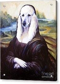 Mona Leasha Acrylic Print by Pat Burns