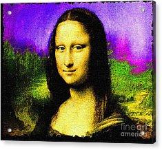 Mona.nixo.09.12.1998. Acrylic Print