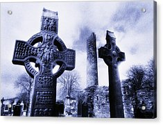 Monasterboice, Co Louth, Ireland Acrylic Print by The Irish Image Collection