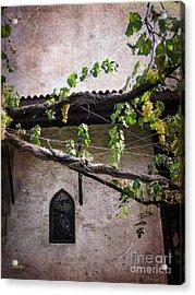 Monastery Garden Acrylic Print