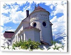 Monastery In Tyrol Acrylic Print