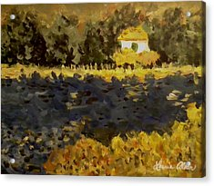 Monet House Acrylic Print by Laurie Allan